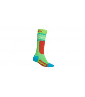 SENSOR ponožky THERMOSNOW Norway Zelená1 - 2