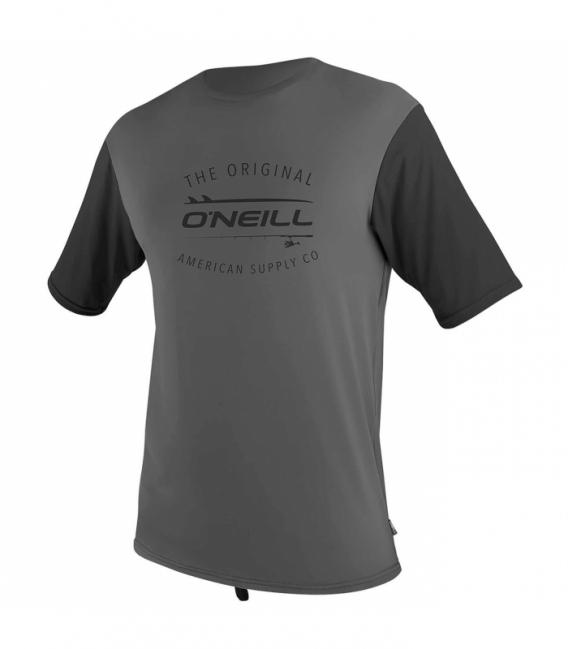 O'NEILL Lycra Limited UV S/S Sun Graphite/Black L