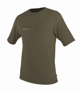 O'NEILL Lycra Hybrid S/S Sun Shirt Khaki M
