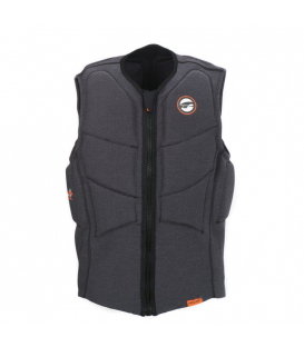 PROLIMIT Vesta Stretch Vest XF Half Padded CE FZ Bk/Or - XL