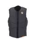 PROLIMIT Vesta Stretch Vest XF Half Padded CE FZ Bk/Or - XL
