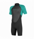 O'NEILL Neoprén Youth Reactor II BZ 2mm Spring Black/Light aqua 6