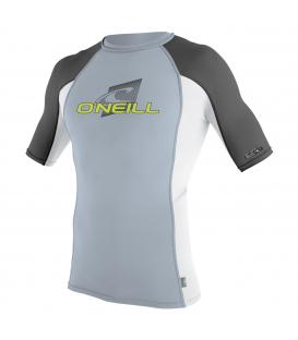 O'NEILL Lycra Youth Premium Skins S/S Rash Guard Turtle Ocean/Black/White - 8