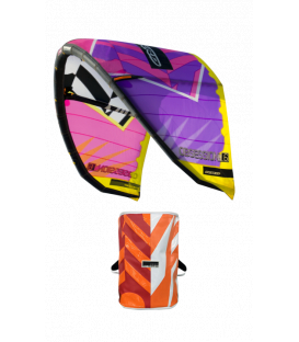 RRD Kite set Obsession MKIX Purple/Black 10.5 + Global bar V7.1 - jazdený