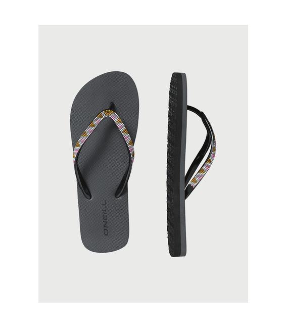 O'NEILL Obuv WMS FM printed strap flip flops black out 39