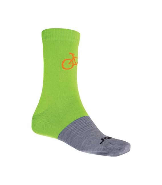 SENSOR ponožky TOUR MERINO WOOL modrá/šedá 6 - 8