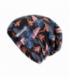 SENSOR čiapka Merino Impress čierna/floral M