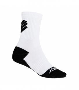 SENSOR Ponožky Race Merino biela 3 - 5