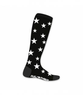 SENSOR ponožky Thermosnow Stars čierna 6 - 8