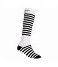 SENSOR ponožky Thermosnow Stripes Biela 6 - 8