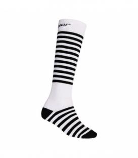 SENSOR ponožky Thermosnow Stripes Biela 9 - 11