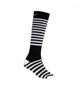 SENSOR ponožky Thermosnow Stripes čierna 9 - 11