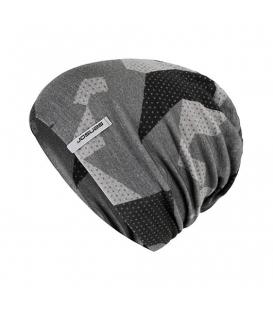 SENSOR zimná čiapka Merino Impress čierna/camo L
