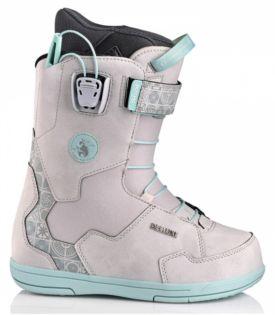 DEELUXE Snowboardové topánky ID Lara PF LTD Grey Mosaic 24.5 (2020/2021)