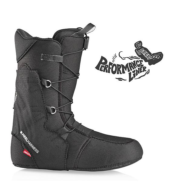 DEELUXE Snowboardové topánky ID Dual BOA PF Black 26 (2020/2021)