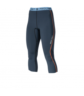 PROLIMIT Neoprénové nohavice Wmns SUP Neo 3/4 Pants 1mm Airmax Slate Black / Orange M