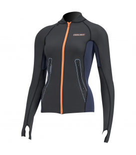 PROLIMIT Neoprénový Top Wmns SUP Top Loosefit Splash Slate Black / Orange L