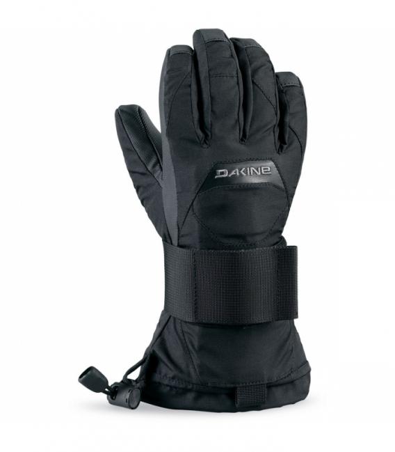 DAKINE Zimné rukavice Wristguard JR Glove Black - K/L