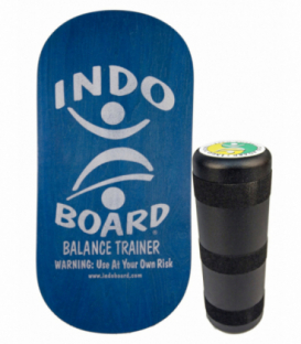 INDO BOARD Balansovacia doska Indo Rocker Board Blue + Roller