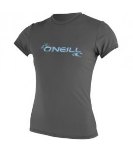 O'NEILL Lycra WMS Basic Skins S/S Sun Shirt Graphite M