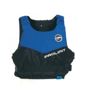 PROLIMIT Záchranná vesta Float jacket Dinghy Side Zip Black/blue XS