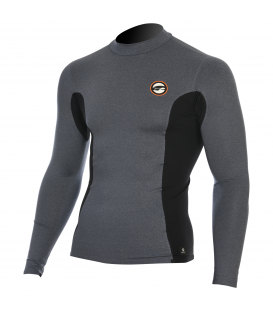 PROLIMIT Lycra Stitchless Rashguard LA Grey/Black L