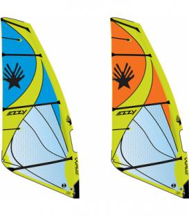 EZZY SAILS Plachta Wave Orange 5.5 (2021) - DEMO