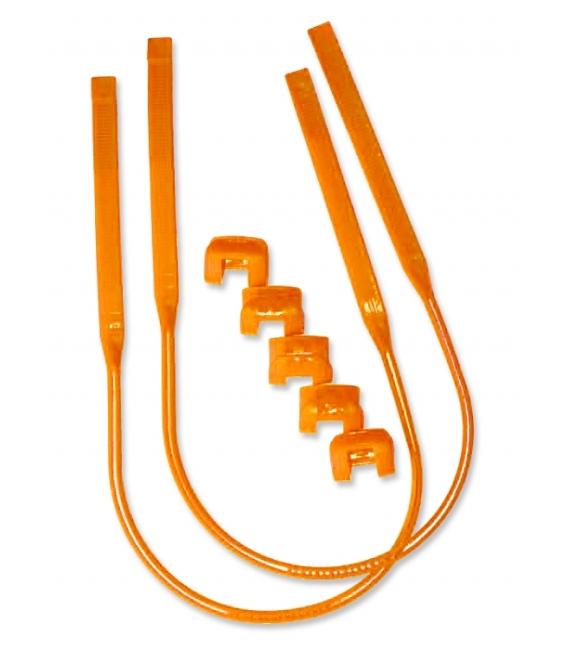 CLIP Trapézové Lanká Harness Line Orange 26-34