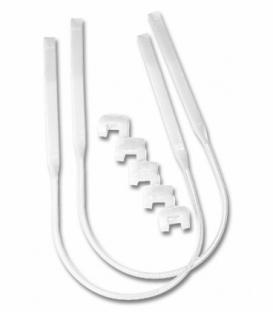 CLIP Trapézové Lanká Harness Line White 20-28