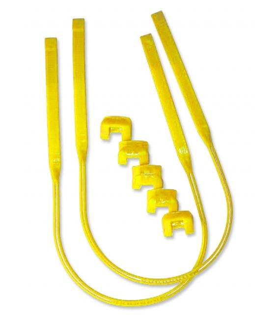 CLIP Trapézové Lanká Harness Line Yellow 26-34