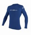 O'NEILL Lycra Basic Skins L/S Rash Guard PACIFIC - M