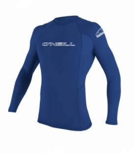O'NEILL Lycra Basic Skins L/S Rash Guard PACIFIC - XL