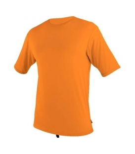 O'NEILL Lycra Surf School S/S Rash Tee Orange - XS