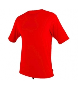 O'NEILL Lycra Surf School S/S Rash Tee RED - XXL