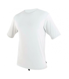 O'NEILL Lycra Surf School S/S Rash Tee WHITE - XL
