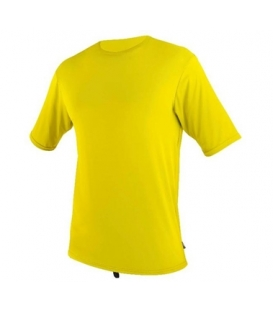 O'NEILL Lycra Surf School S/S Rash Tee YELLOW - XS