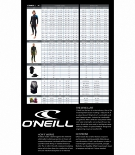 O'NEILL Neoprén Epic 5/4 BLK/BRTBLU/BLK - L