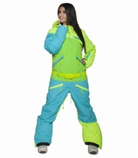 COOL ZONE Overal WMS Kite Green/Blue - XS