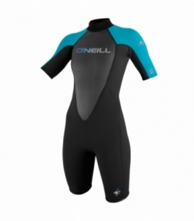 O'NEILL Neoprén WMS Reactor 2mm S/S Spring BLACK/TURQUOUSE/BLACK - 8