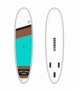 CORNER Paddleboard Allround 10'10 Aqua + Karbónové pádlo Corner ZDARMA