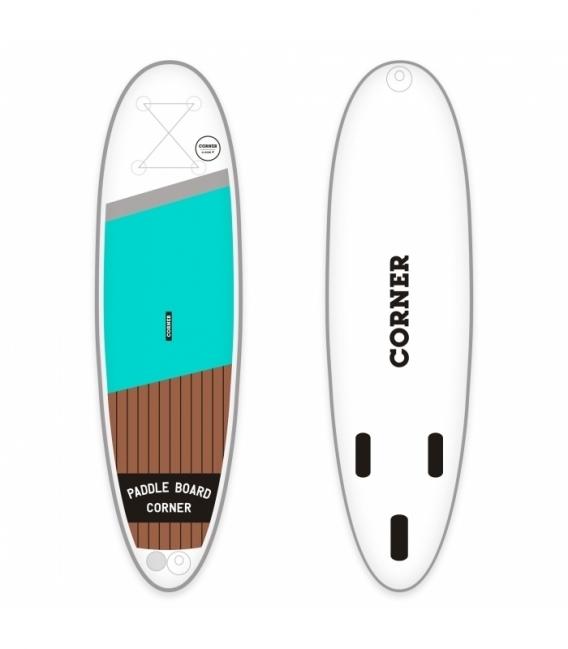 CORNER Paddleboard Allround 9' Aqua
