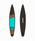 CORNER Paddleboard Race 12'6 Light Blue