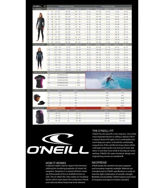 O'NEILL Neoprén WMS D-Lux Mod W/Hood FSW 5/4 BLK - 8 (2014)