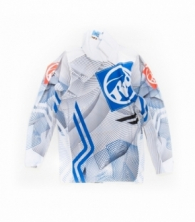 RRD Lycra L/S White/Blue - XL