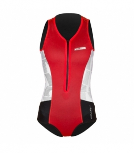 RRD Neoprén Amazone Body Short Flatlock 2/1 RED/WHITE/BLACK - 10