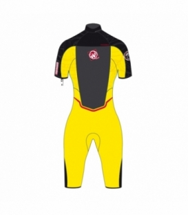 RRD Neoprén Amazone Shorty 3/2 YELLOW/BLACK - 12