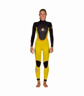 RRD Neoprén Amazone Steamer 3/2 YELLOW/BLACK - 12 - L