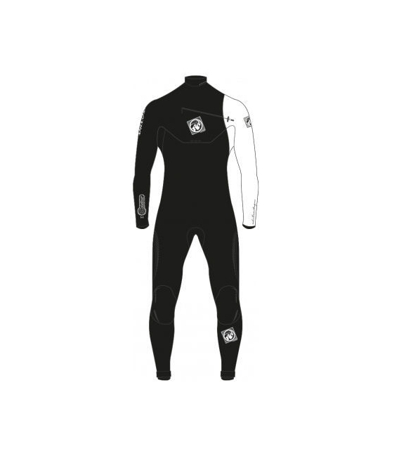 RRD Neoprén Celsius c/z 5/3 BLACK/WHITE - 3XL