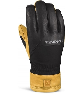 DAKINE Zimné Rukavice Navigator Glove Black/Tan - Xl