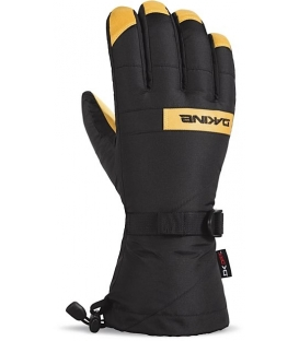 DAKINE Zimné Rukavice Nova Glove Black/Tan - L